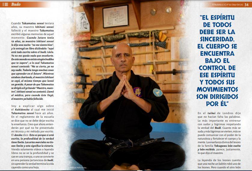 Colaboración con Revista El Budoka